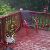 Thunder, lighting Rain and Hail in Brookside, Ns