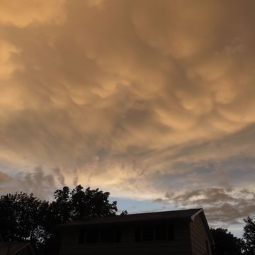 Post-storm clouds July 23 2016