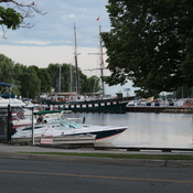 Tall ship in Brockville