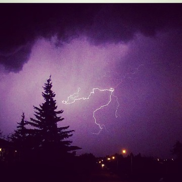 Lightning still shots