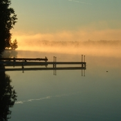 Canal Lake - Early morning mist