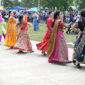 dancing during the FESTIVAL of INDIA