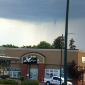 West lethbridge funnel cloud