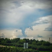 Funnel Cloud over Cimmaron in Okotoks