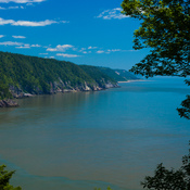 A view from the Fundy Trail