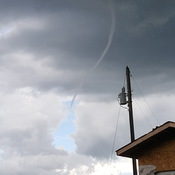 Funnel cloud okotoks