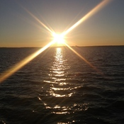 Sunset on Lake Simcoe