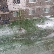 Fort Saskatchewan July 28 Hail Storm