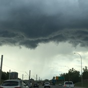 Storm front over Crowchild