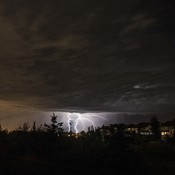 Sherwood Park AB Lighting storm
