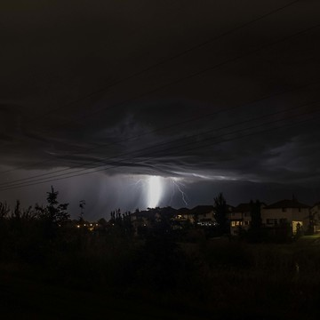 Sherwood Park AB lighting storm part 2
