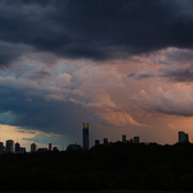 Stormy Skies Over Toronto