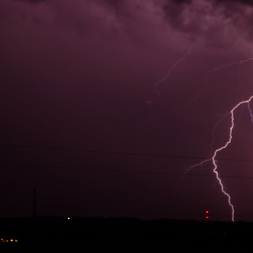Lightning in Leduc