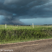 Storm System just west of Airdrie