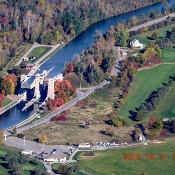 The peterborough liftlock fall 2015