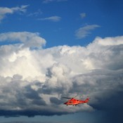 Ornge Helicopter ar Work