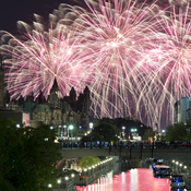 Casino Lac Leamy Fireworks
