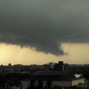 Funnel cloud in Windsor Ontario