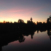 Courtenay River Sunset