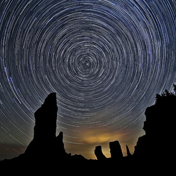 Cape Chignecto Star Trails