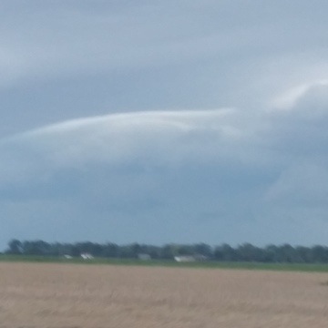 Clouds just outside of Wallaceburg