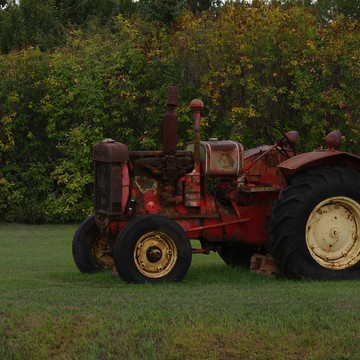 Old Cockshutt tractor