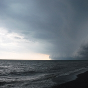 Thunderstorm over Lake Erie