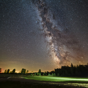 The Milky Way from the North Frontenac Township Dark Sky Preserve​