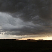 Storm covering SW Manitoba
