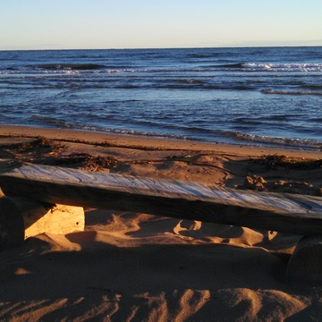 Early morning walk at l'Aboiteau beach in Cap pelé NB