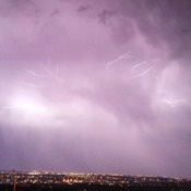 beautiful lighting from nose hill park