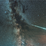 Fireball Across the Milky Way