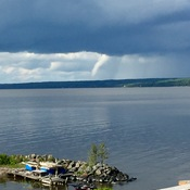 Funnel Cloud over Lake Temiskaming