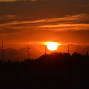 Sunset in Calgary - Last day of August