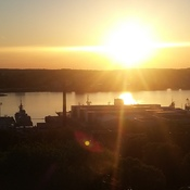 Fall sunrise over our beautiful Port City of Halifax