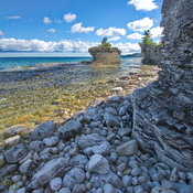 Georgian Bay at Bruce Peninsula National Park