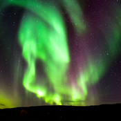 Autumn Lights in Iqaluit, NU