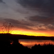 Sunrise over Bedford basin