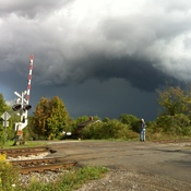 Wicked clouds over the Niagara Escarpment