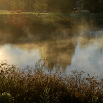 Carp River at Sunrise