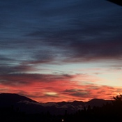 Fall Sunrise in Kamloops BC