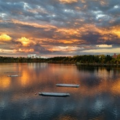 Glenmore Park Sunset