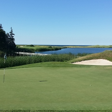 7th Green...with an ocean view