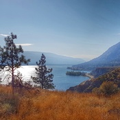 Okanagan lake Summerland