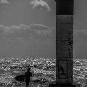 Solitary Surfer