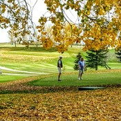 Fall golf at Flowing Springs Golf Greens