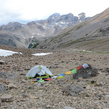 High Elevation campsite