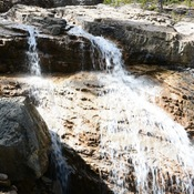 waterfall in the NW Brazeau valley