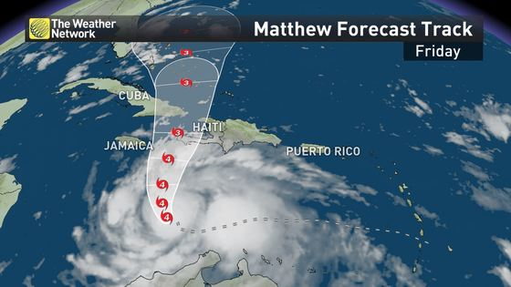 News - Hurricane Matthew threatens Caribbean, U.S. East Coast - The ...