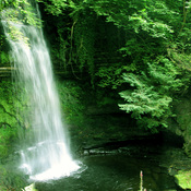 Ireland Glencar Waterfall